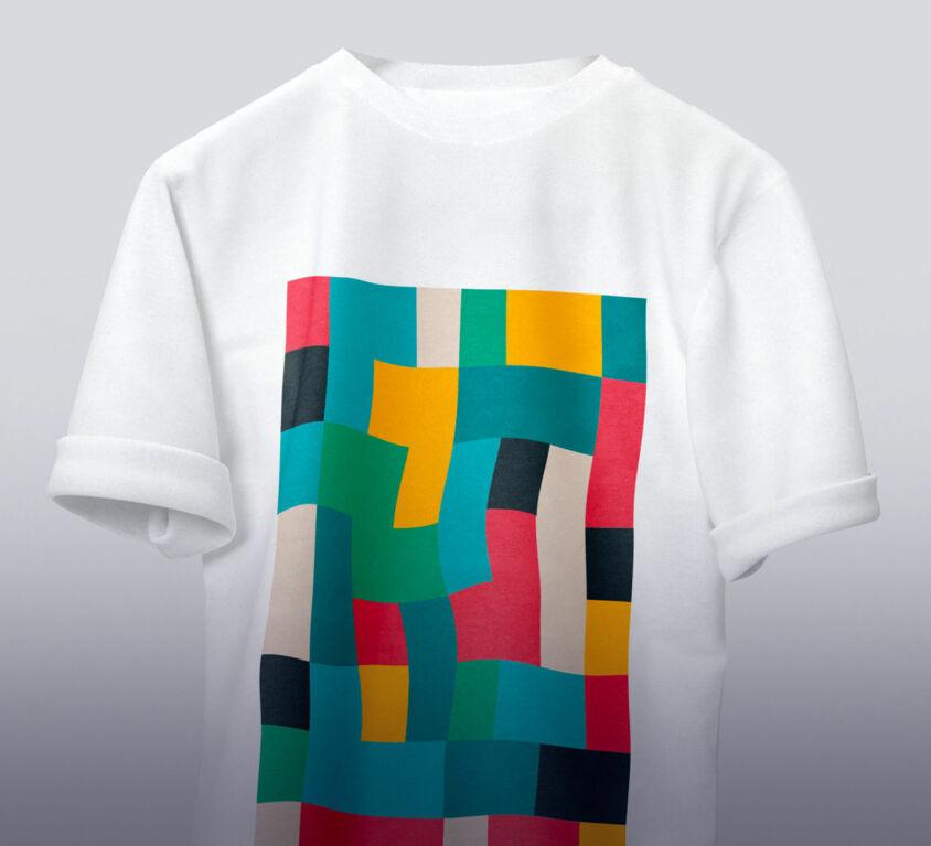 T-shirt color design (Demo)