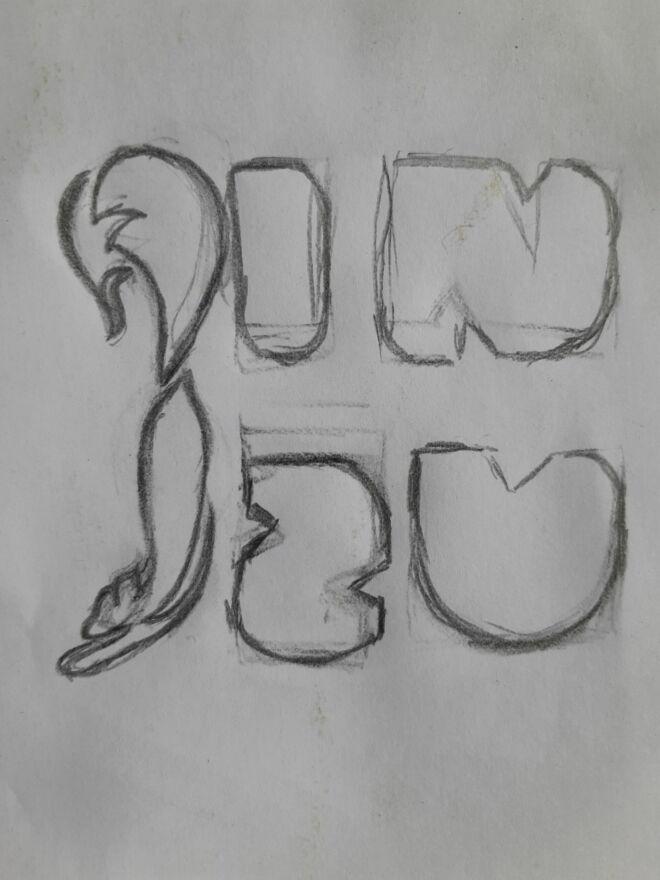 Draft Logo Jinzu