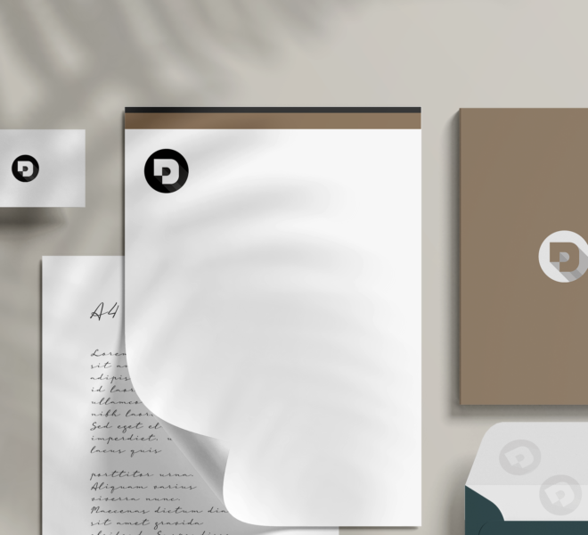 Branding Mockup on Paper, Desuals' logo
