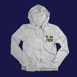 Design agency Munich, a video game logo on a hoodie