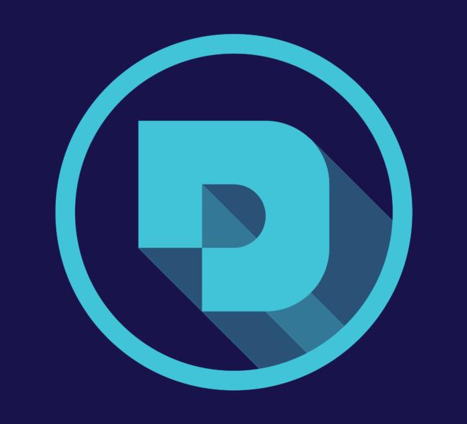 Desuals' logo for the website