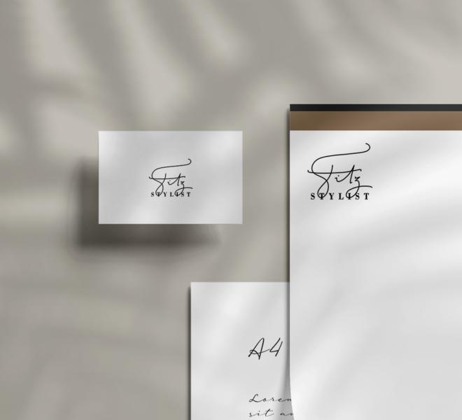 Branding Mockup from Fitz's logo - part 1