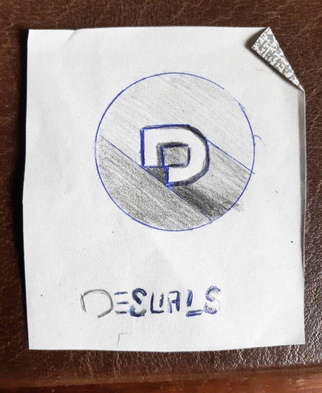 Last test for the Desuals 's logo