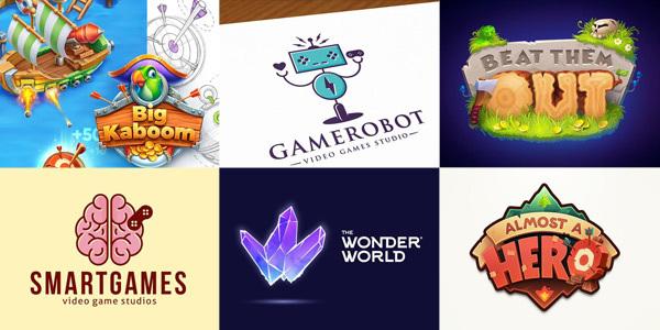 various video game's logos